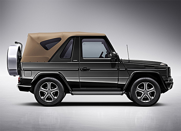 Mercedes-Benz G-Class Cabriolet Final Edition at werd.com