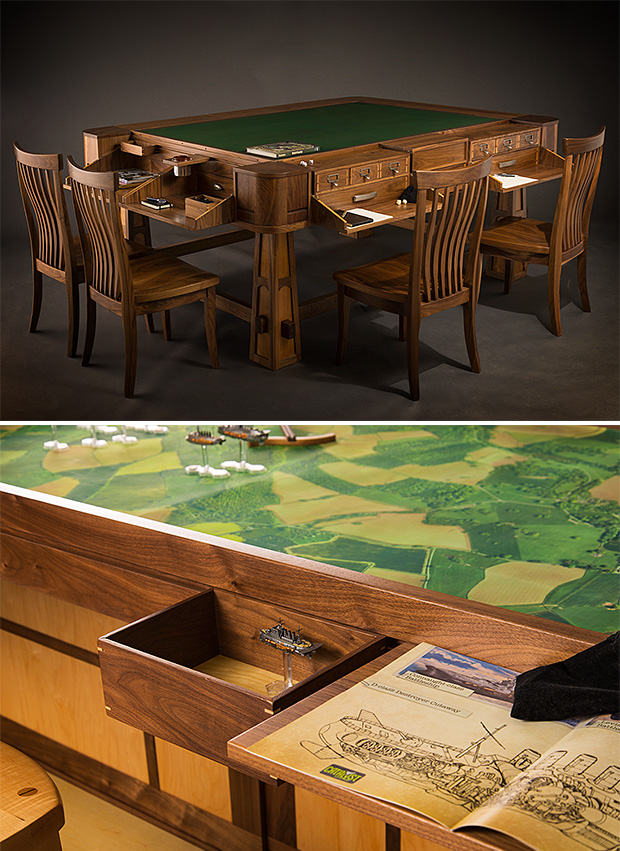 Convertible Gaming Tables at werd.com