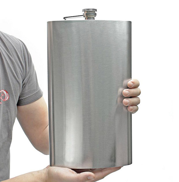 128 oz Flask at werd.com