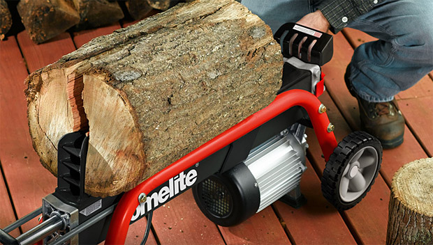 Homelite 5-Ton Log Splitter at werd.com