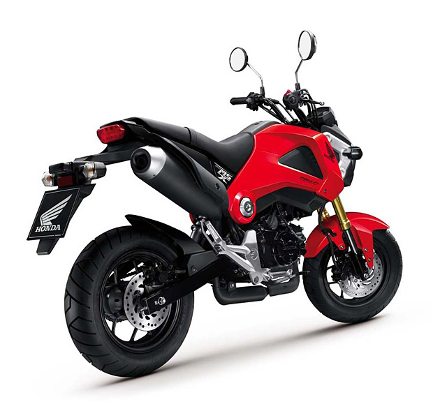 Honda Grom at werd.com