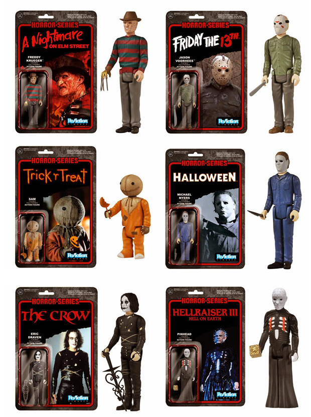 Horror Movie Action Figures at werd.com