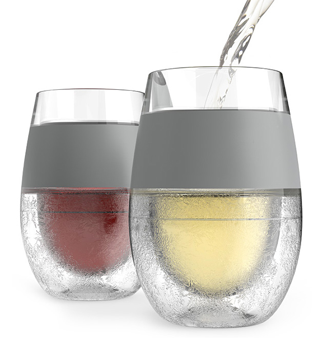 Host Freeze Cooling Wine Glass at werd.com