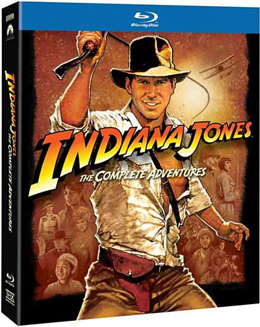 Indiana Jones: The Complete Adventures Blu-ray at werd.com