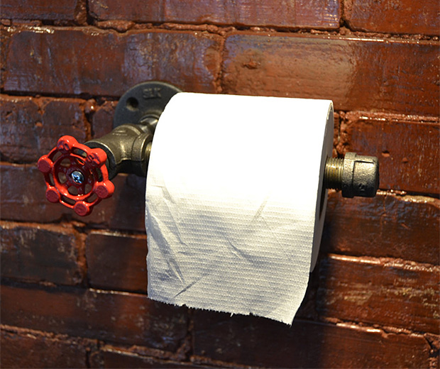 Industrial Toilet Paper Holder at werd.com