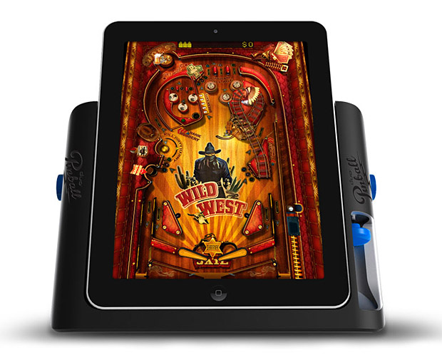 iPad Pinball Game Console at werd.com