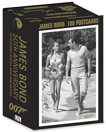 James Bond 50th Anniversary Postcards at werd.com