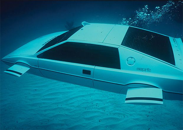 James Bond's Lotus Esprit Submarine Car on the Block at werd.com