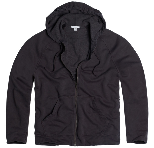 James Perse Thermal Lined Soft Hoodie at werd.com