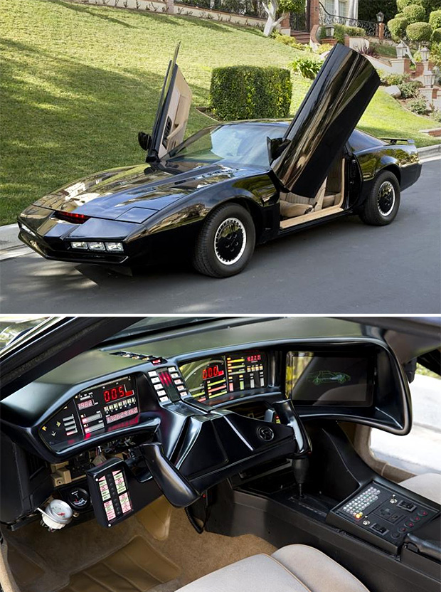 David Hasselhoff's KITT Car Auction at werd.com