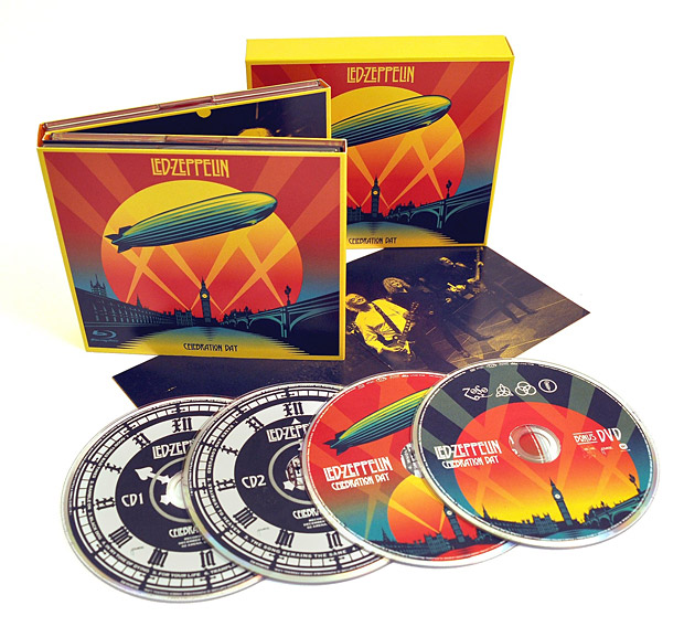 Led Zeppelin Celebration Day Deluxe Edition at werd.com