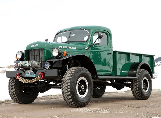 Legacy Power Wagon at werd.com