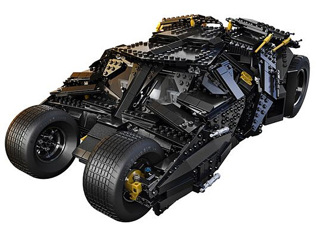LEGO Batman Tumbler at werd.com