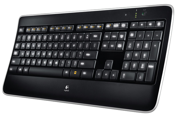 Logitech Wireless Illuminated Keyboard at werd.com