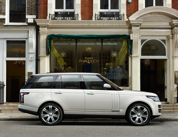 Long Wheelbase Range Rover at werd.com