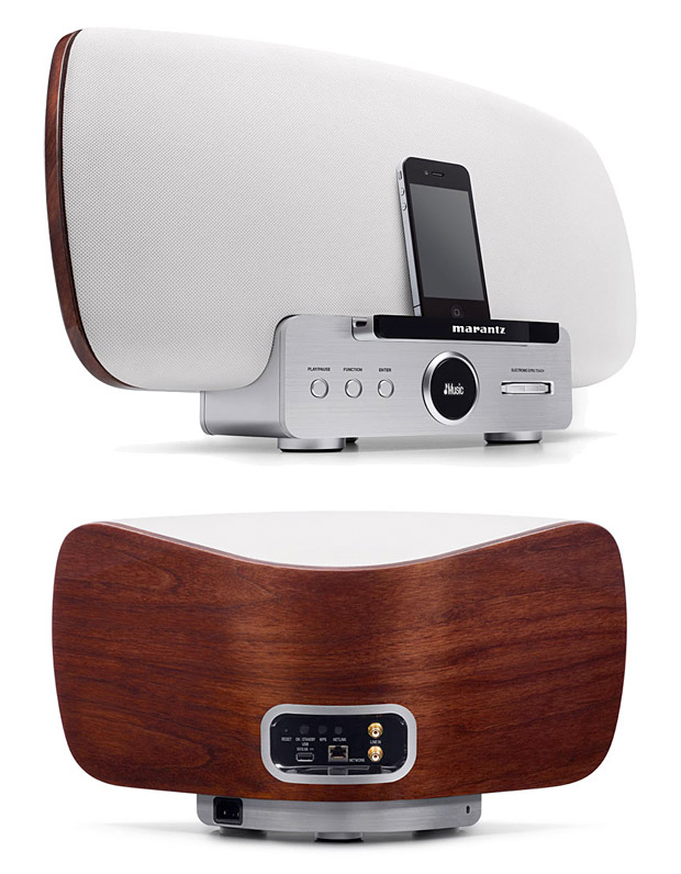 Marantz Consolette Speaker Dock at werd.com