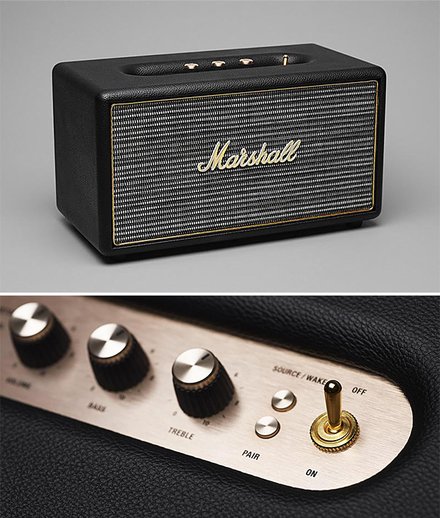 Marshall Stanmore Bluetooth Speaker at werd.com