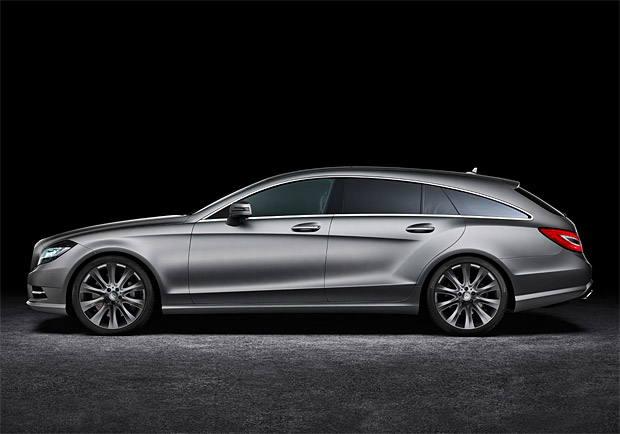 Mercedez-Benz CLS Shooting Brake at werd.com