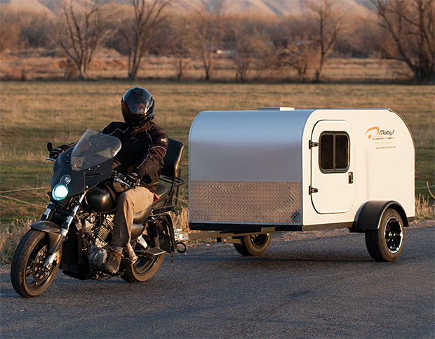 Moby1 Motorcycle Trailer at werd.com