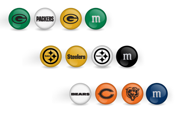 NFL M&M's at werd.com