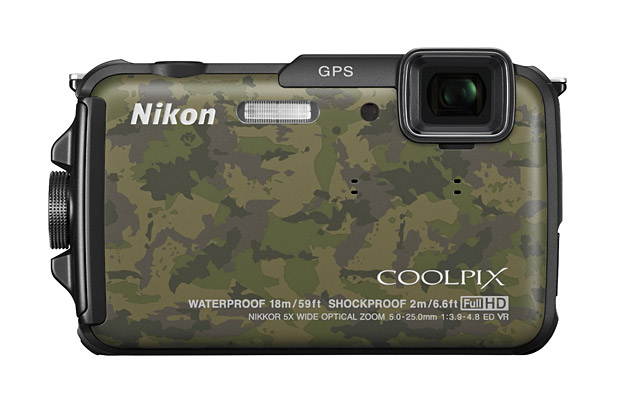 Waterproof & Shockproof Nikon COOLPIX AW110 at werd.com
