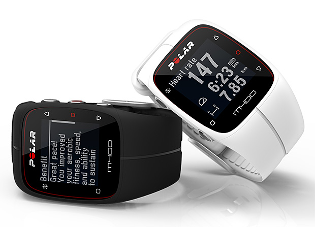 Polar M400 GPS Running Watch at werd.com