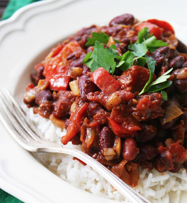 Classic Red Beans & Rice at werd.com