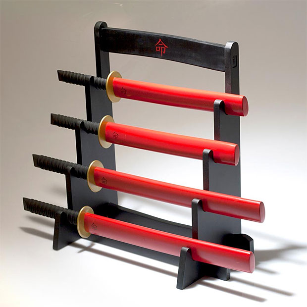 Samurai Kitchen Knife Set at werd.com