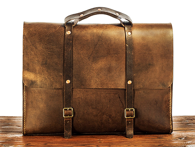 Satchel & Page Leather Collection at werd.com