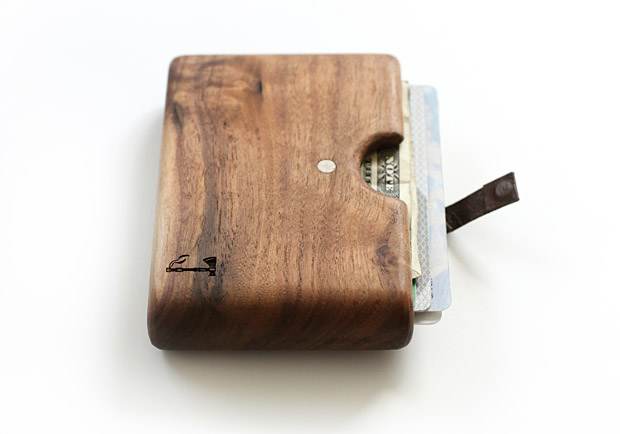 Slim Timber Wood Wallet at werd.com