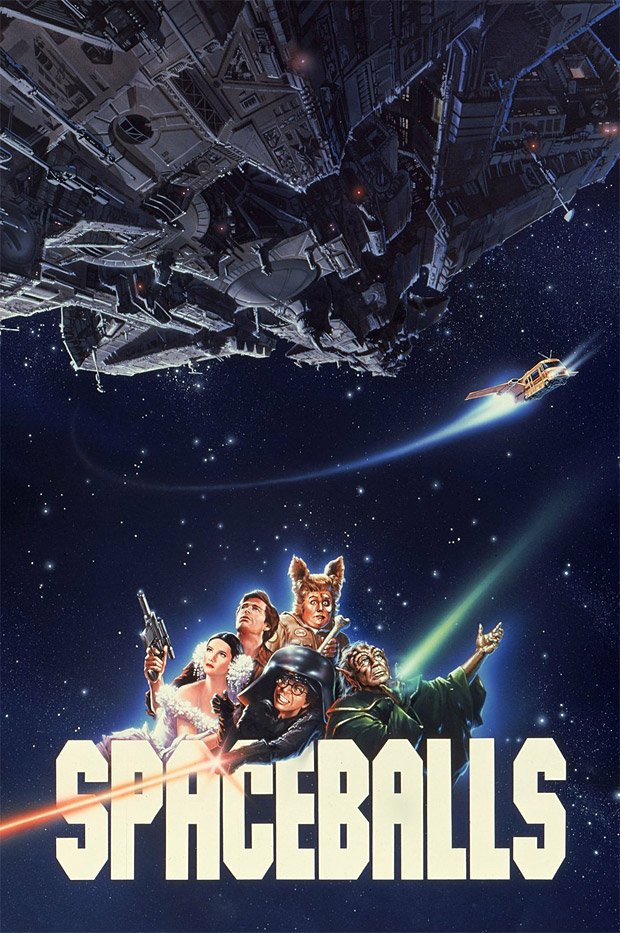 Spaceballs 25th Anniversary Edition Blu-ray at werd.com