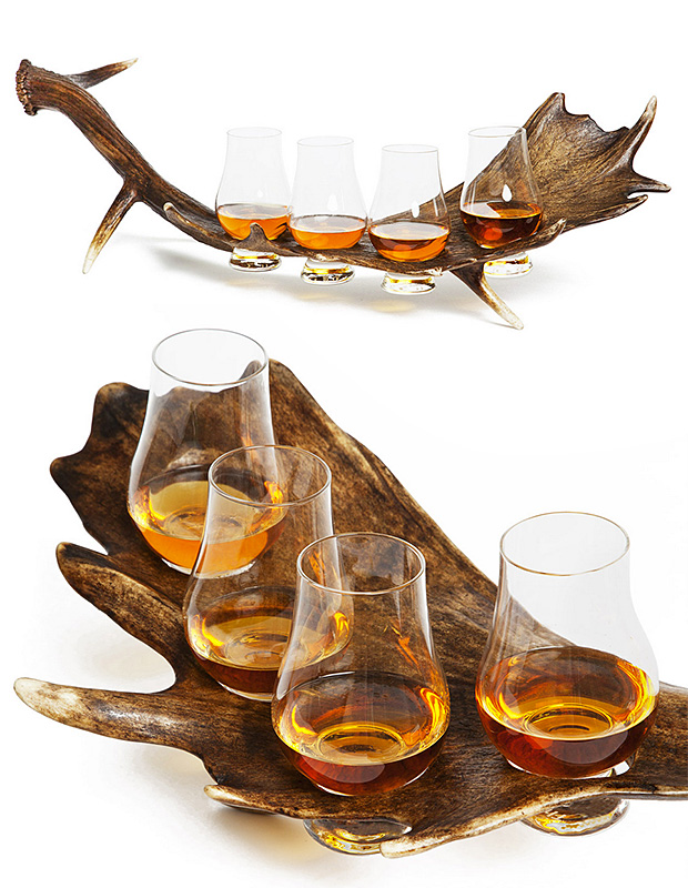 Stag Horn Whiskey Flight at werd.com