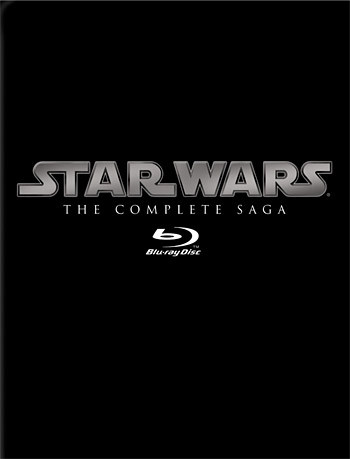 Star Wars: The Complete Saga on Blu-ray at werd.com