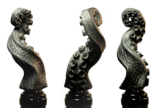 Tentacle Wine Stopper at werd.com