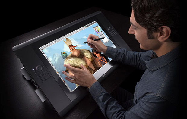 Wacom Cintiq 24HD Touch Tablet at werd.com