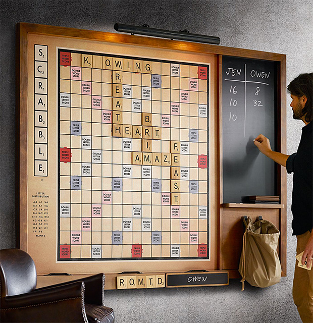Wall Scrabble at werd.com