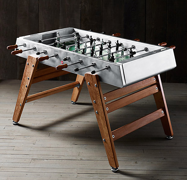Wood & Steel Foosball Table at werd.com
